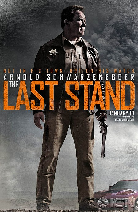 The Last Stand - Poster US 02