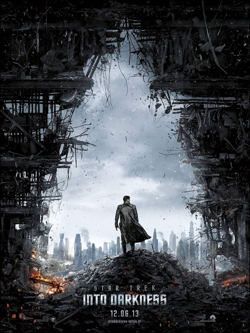 Star Trek Into Darkness - Affiche Teaser FR 01