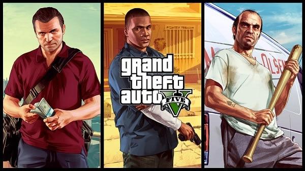 Grand Theft Auto Five - Banner 02