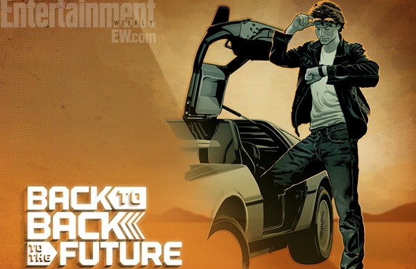 Back to Back to the Future - Comic Book Picture 01