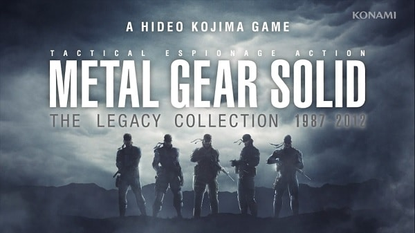 Metal Gear Solid The Legacy Collection - Logo