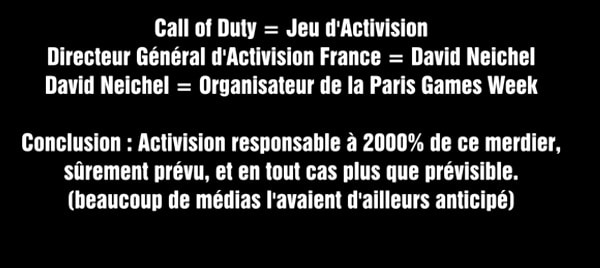 Paris Games Week 2013 - Call of Duty Ghosts Activision