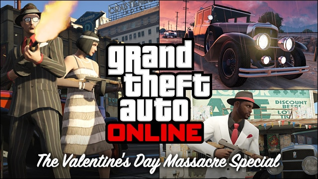 Grand Theft Auto Online - The Valentine's Day Massacre Special