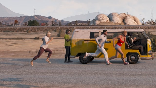 Grand Theft Auto V - Projets photos de fans - Little Miss Sunshine