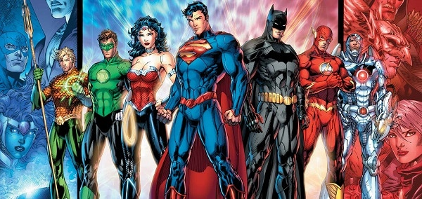 Justice League - Comics Artwork 01