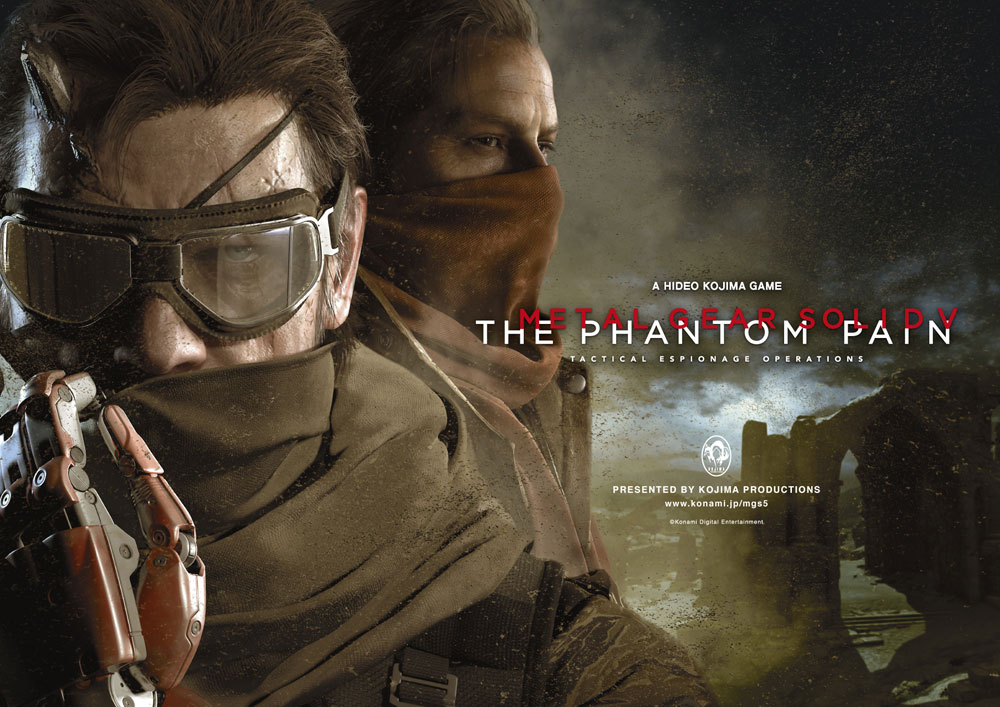 Metal Gear Solid V The Phantom Pain - Artwork 05
