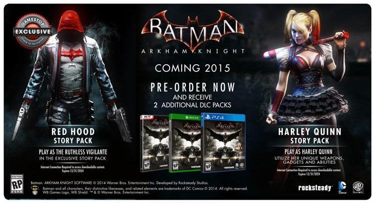 Batman-Arkham-Knight-Red-Hood-Story-Pack-Harley-Quinn-Story-Pack