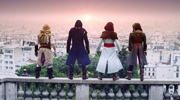 French Freerun Family x Assassin's Creed Unity