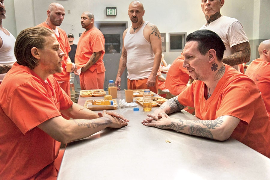 Sons of Anarchy - Season 7 - Charlie Hunnam and Marilyn Manson