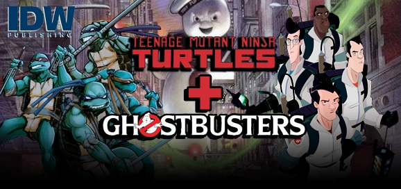 Teenage Mutant Ninja Turtles Ghostbusters - Banner