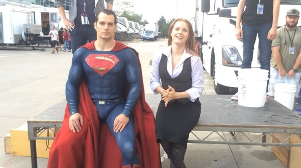 Henry Cavill and Amy Adams - Ice Bucket Challenge
