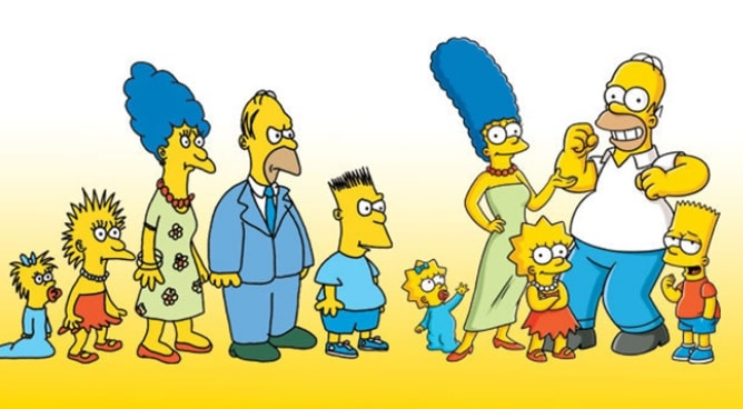 1987-Simpsons-will-meet-2014-Simpsons