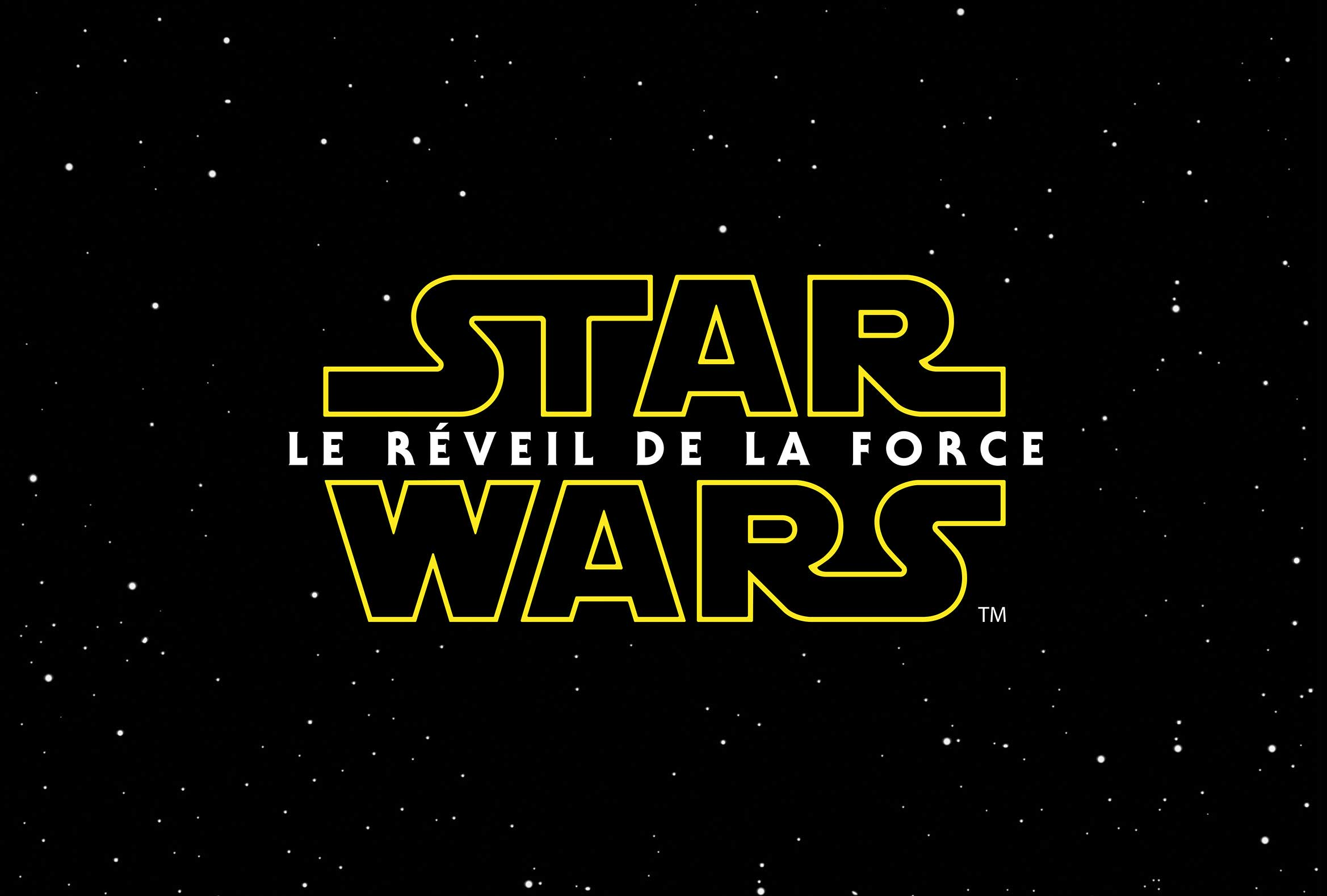Star Wars Le Reveil de La Force (2015) - Logo
