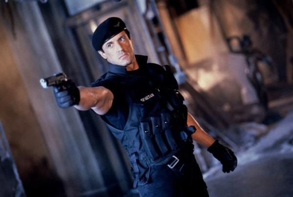 Sylvester Stallone dans Demolition Man