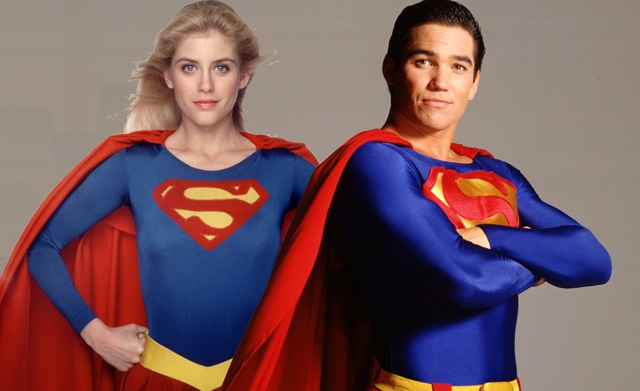 Dean-Cain-and-Helen-Slater-are-Superman-and-Supergirl