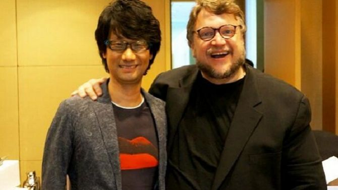 Hideo Kojima and Guillermo Del Toro