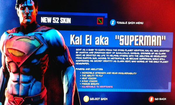 Superman Skin Warner Bros Games Montreal