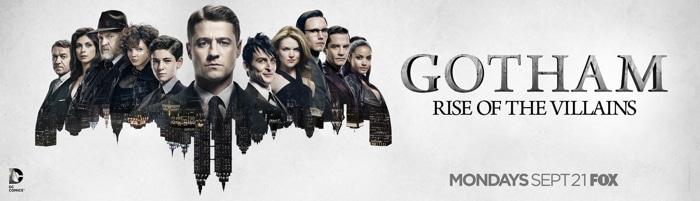 Gotham - Season 2 Banner US