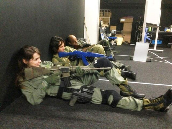 Stefanie-Joosten-Military-Training