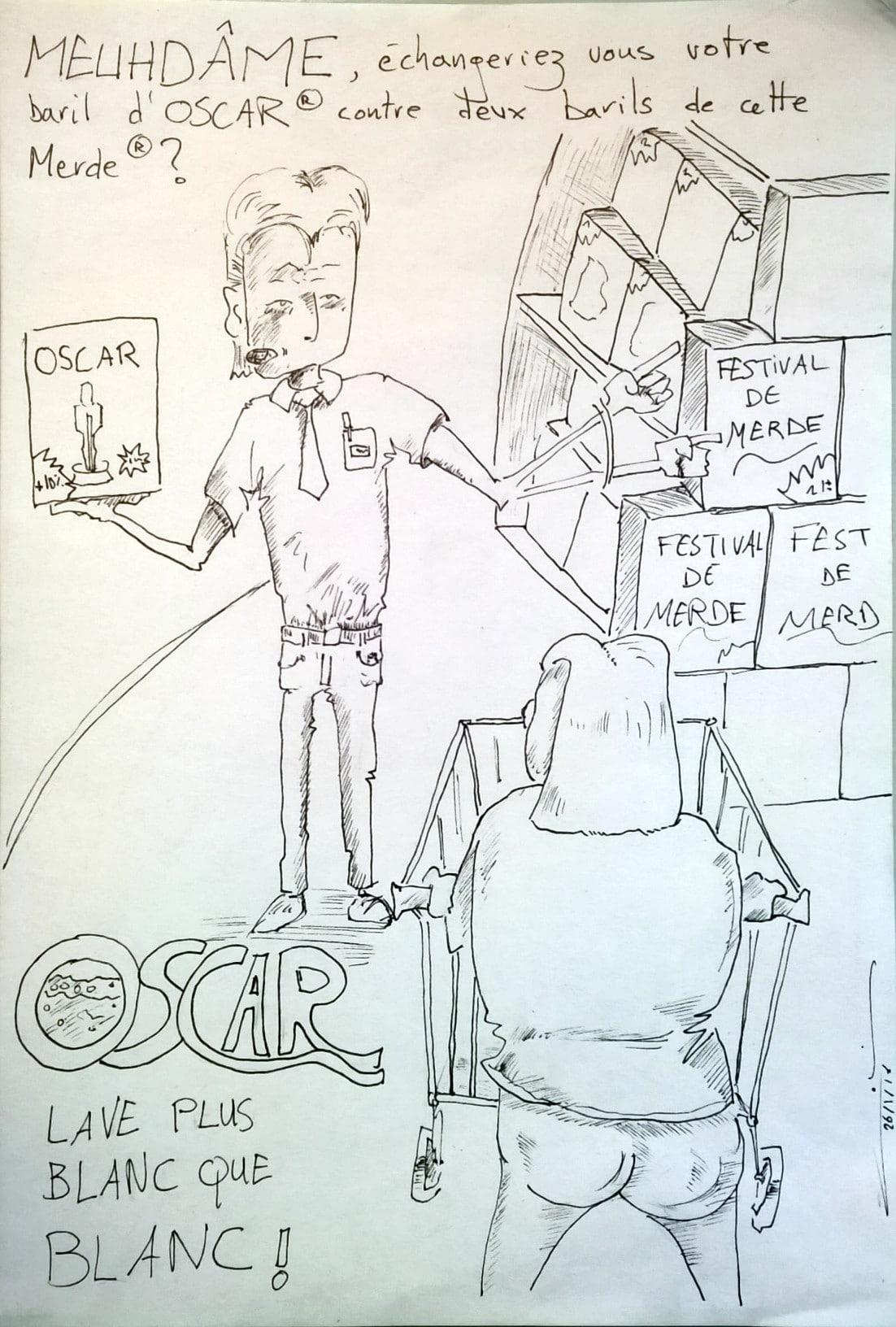 Colin-Gribouille-l'Actu-Oscar-plus-blanc-que-blanc