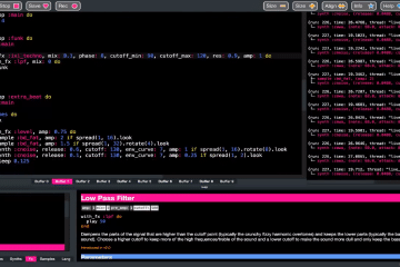 Daft Punk Aerodynamic with Sonic Pi