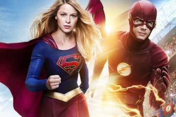 The Flash and Supergirl Crossover Banner