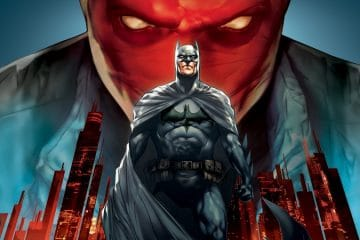 Batman Under the Red Hood Banner