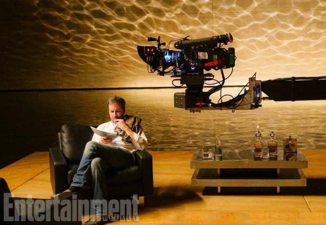 Blade-Runner-2049-2017-Director-Denis-Villeneuve-on-the-set