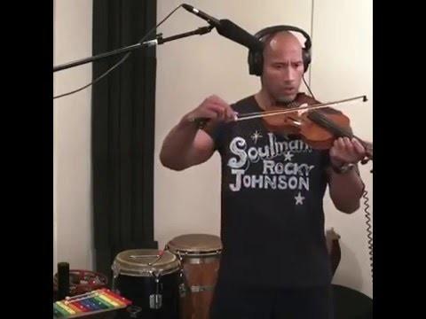 Dwayne-Johnson-Violon