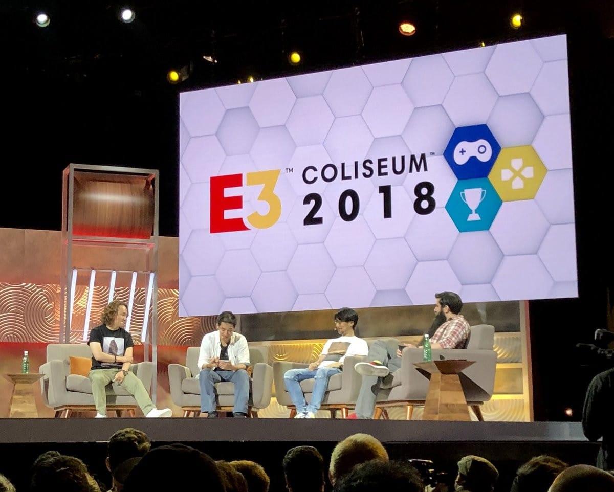 E3-2018-Coliseum-Yoji-Shinkawa-Hideo-Kojima-Jordan-Vogt-Roberts