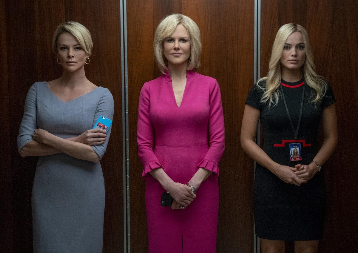 Charlize Theron, Nicole Kidman et Margot Robbie dans Bombshell