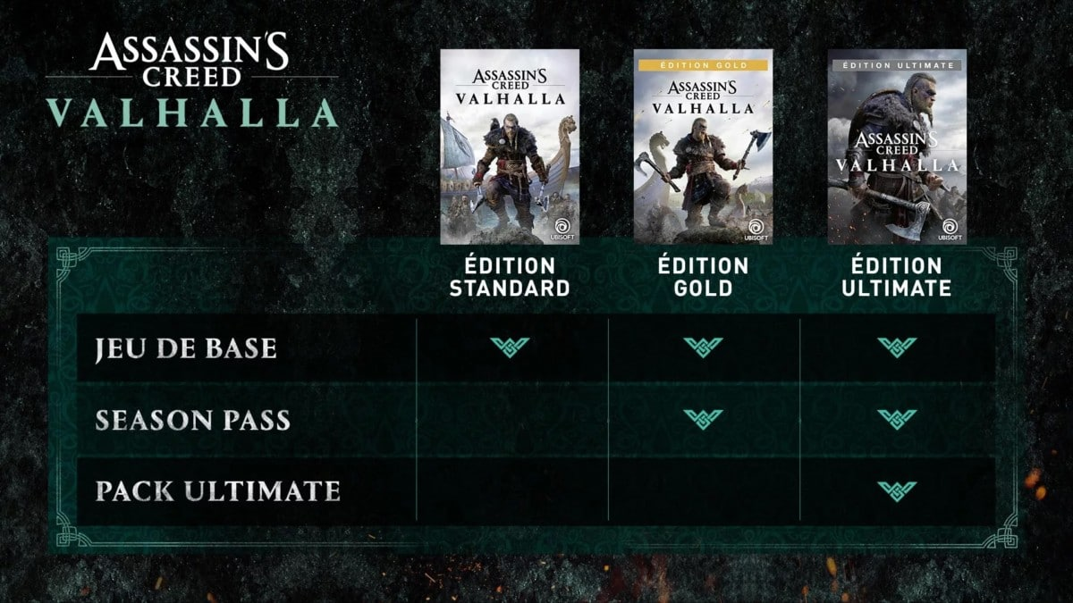 assassin's-creed-valhalla-editions